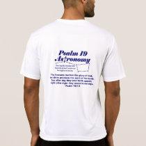 Psalm 19 Astronomy T-shirt - SportTek