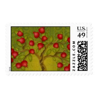 Psalm 1 postage stamp