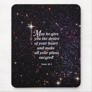 Psalm 20:4 mousepads