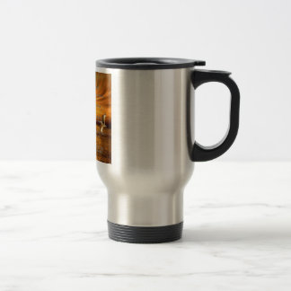 Psalm 23:1-6 The Lord Is My Shepard 15 Oz Stainless Steel Travel Mug