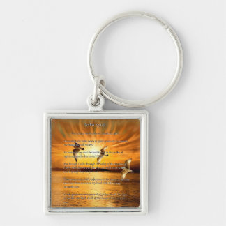 Psalm 23:1-6 The Lord Is My Shepard Keychain