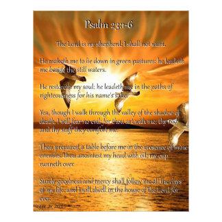 Psalm 23:1-6 The Lord Is My Shepard Letterhead