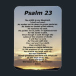 """Psalm 23 (3) magnet<br><div class=""""desc"""">The LORD is my Shepherd, I shall not want. He makes me lie down in green pastures, He leads me beside quiet waters, He restores my soul. He guides me in paths of righteousness for His name's sake. Even though I walk through the valley of the shadow of death, I...</div>"""