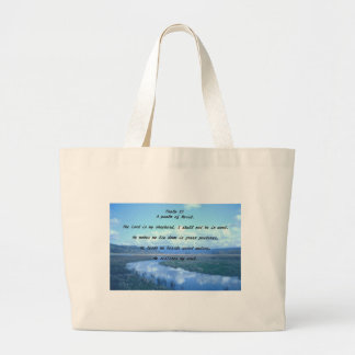 Psalm 23 A psalm of David.T Tote Bag