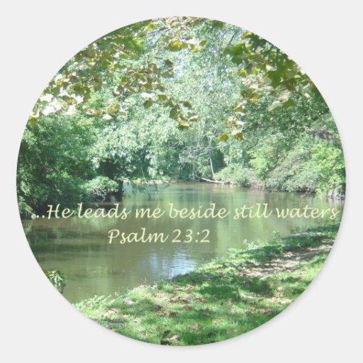 Psalm 23 Bible Verse Sticker