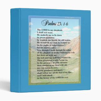 Psalm 23 Binder