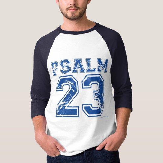 Psalm 23 Blue Sports Tee