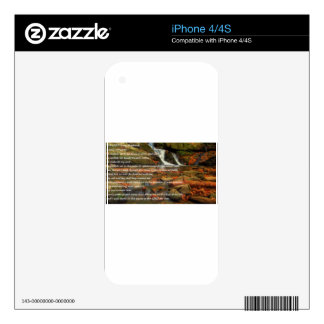 Psalm 23 decal for iPhone 4
