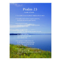 Psalm 23 Grand Teton National Park Posters