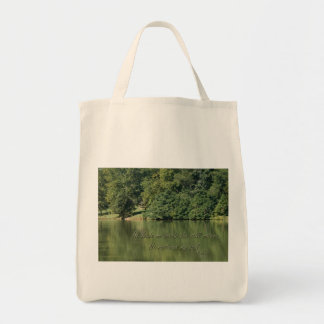 Psalm 23 He leads me beside the still waters Bags