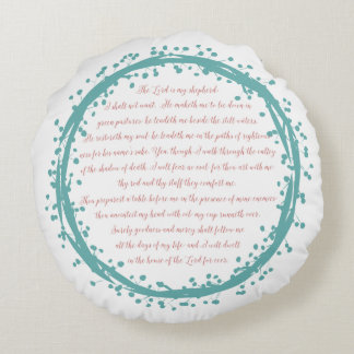 Psalm 23 Home Decor Pillow Double Sided