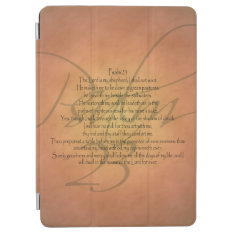 Psalm 23 Kjv Christian Bible Verse Religious Ipad Air Cover at Zazzle