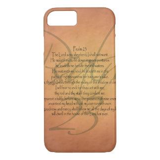Psalm 23 KJV Christian Bible Verse Religious iPhone 8/7 Case