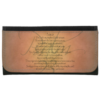 Psalm 23 KJV Christian Bible Verse Wallets