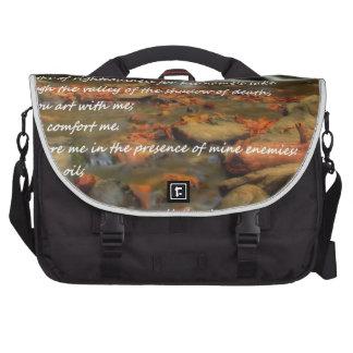 Psalm 23 laptop bags