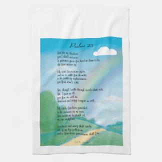 Psalm 23 Poem Kitchen Towel
