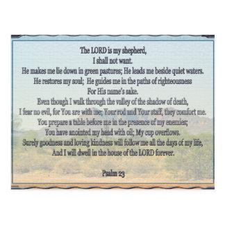 Psalm 23 postcards