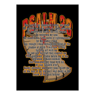 Psalm 23 posters