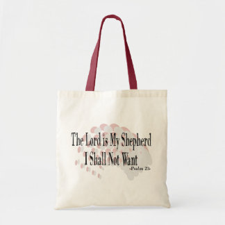 Psalm 23 Prayer Gifts Tote Bags