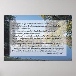 Psalm 23 Scripture Print