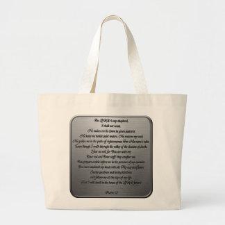 Psalm 23 - Steel Canvas Bag