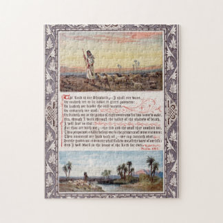 Psalm 23 Vintage Jigsaw Puzzle
