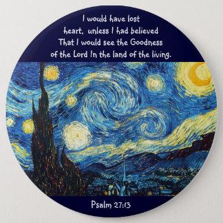 Psalm 27:13 button