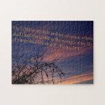 Psalm 27:1 at Dawn Jigsaw Puzzles