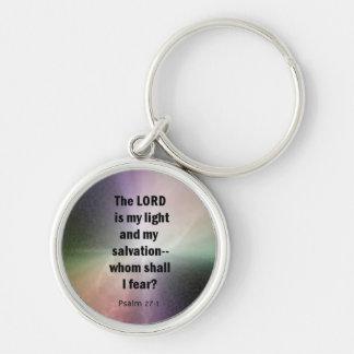 Psalm 27:1 keychains