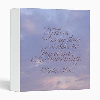 Psalm 30:5 ~ Morning Joy Binder