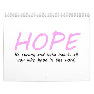 Psalm 31:24 calendar