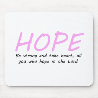 Psalm 31:24 mouse pad