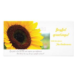 Psalm 32:11 Scripture photocard Card