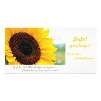 Psalm 32:11 Scripture photocard Photo Card