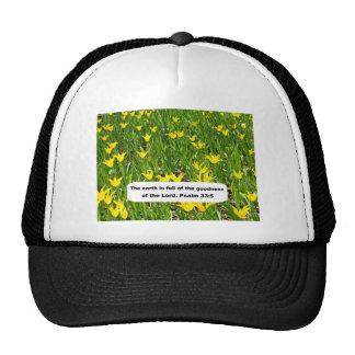 Psalm 33:5 trucker hat