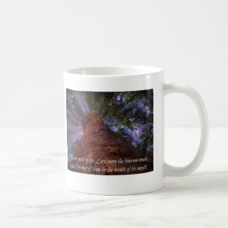 Psalm 33:6 Starry Night Coffee Mug
