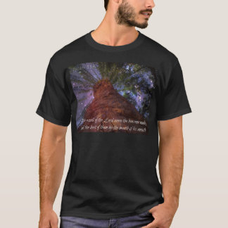 Psalm 33:6 Starry Night T-Shirt