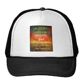 Psalm 34:18 Love Trucker Hat