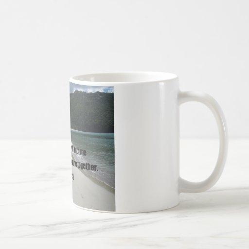 Psalm 34:3 coffee mug