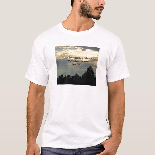 Psalm 36:5 T-Shirt