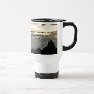 Psalm 36:5 travel mug