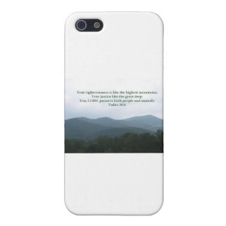 Psalm 36:6 case for iPhone SE/5/5s