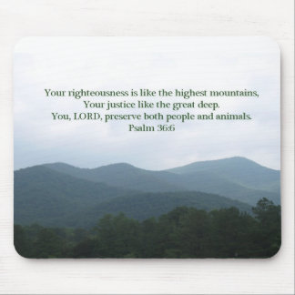Psalm 36:6 mouse pad