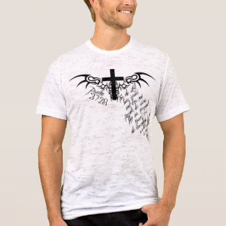 Psalm 37:28 Cross Christian destroyed tee