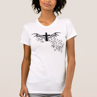 Psalm 37:28 Cross Christian tee