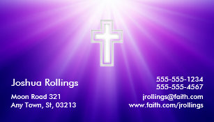psalm 37 4 5 christian business card - Christian Business Cards
