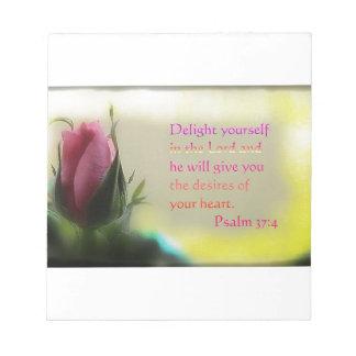 Psalm 37:4 scratch pad