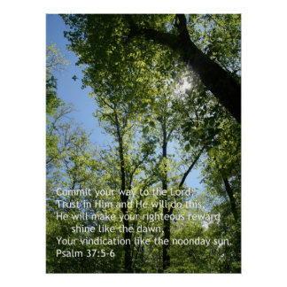 Psalm 37 Poster