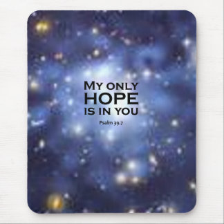 Psalm 39:7 mouse pads