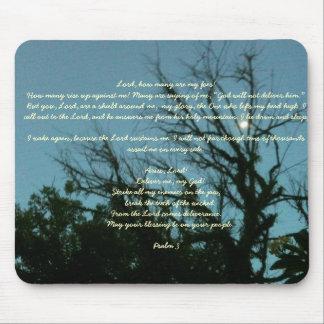 Psalm 3 on a mousepad